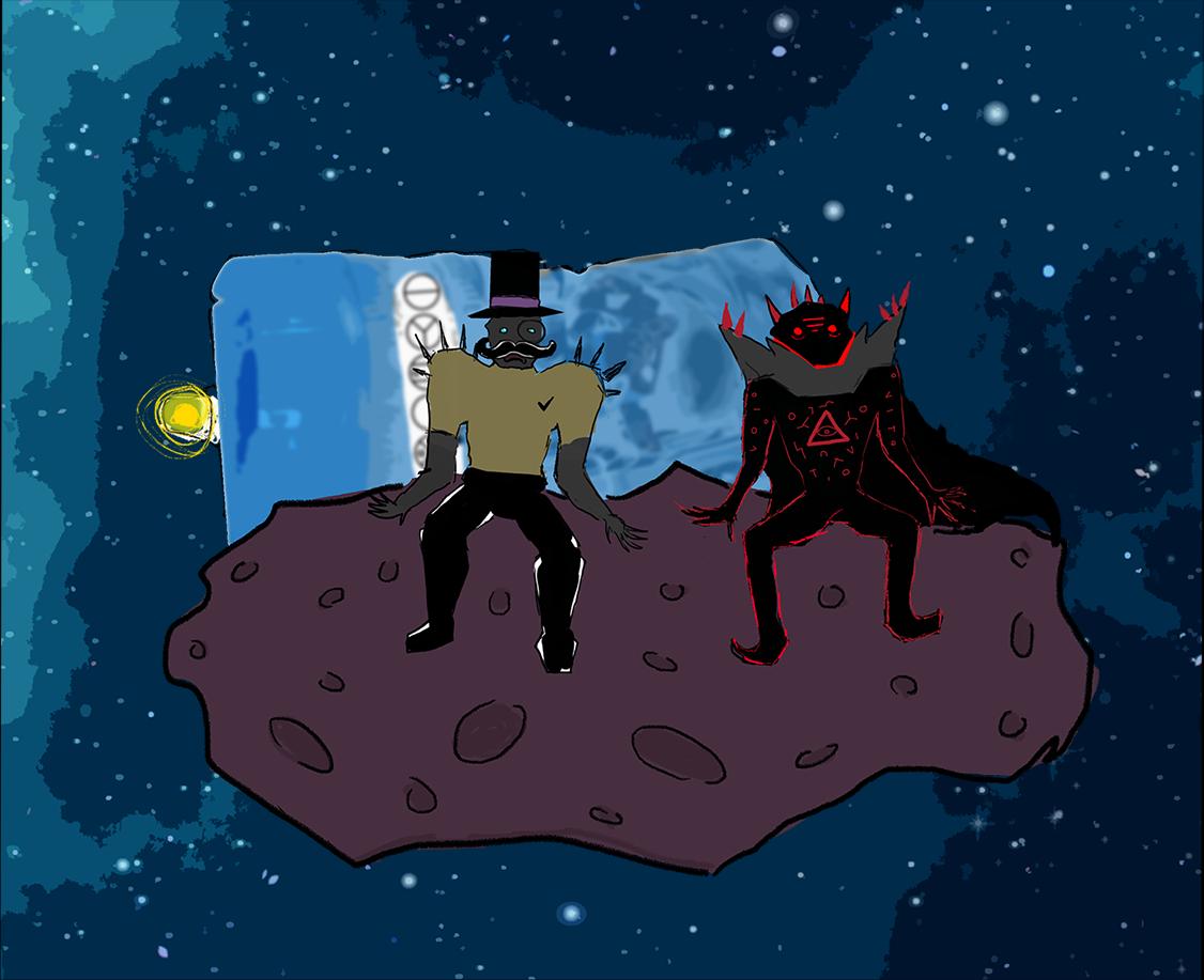 Viktor ja Manu asteroidilla