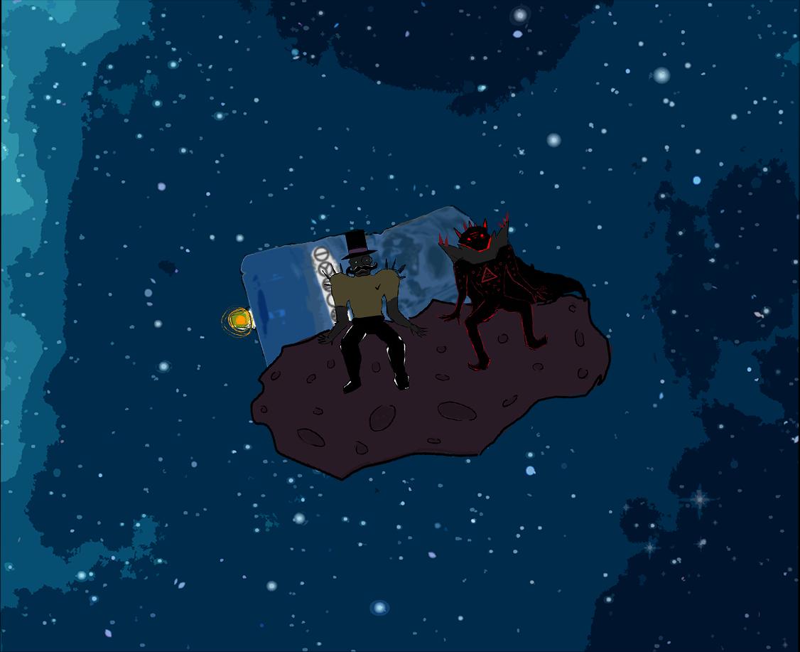 Viktor ja Manu asteroidilla (vielä kauempana)