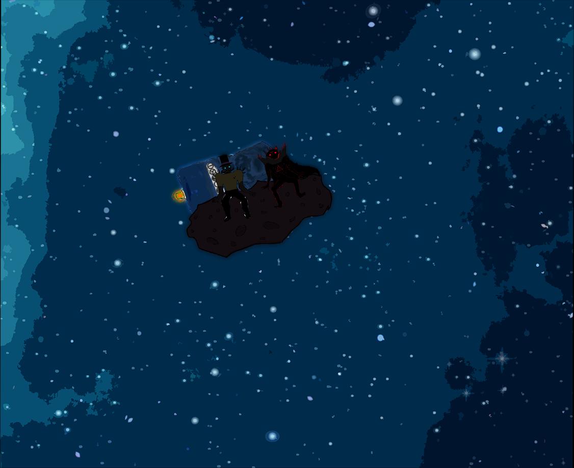 Viktor ja Manu asteroidilla (yhä vain kauempana)