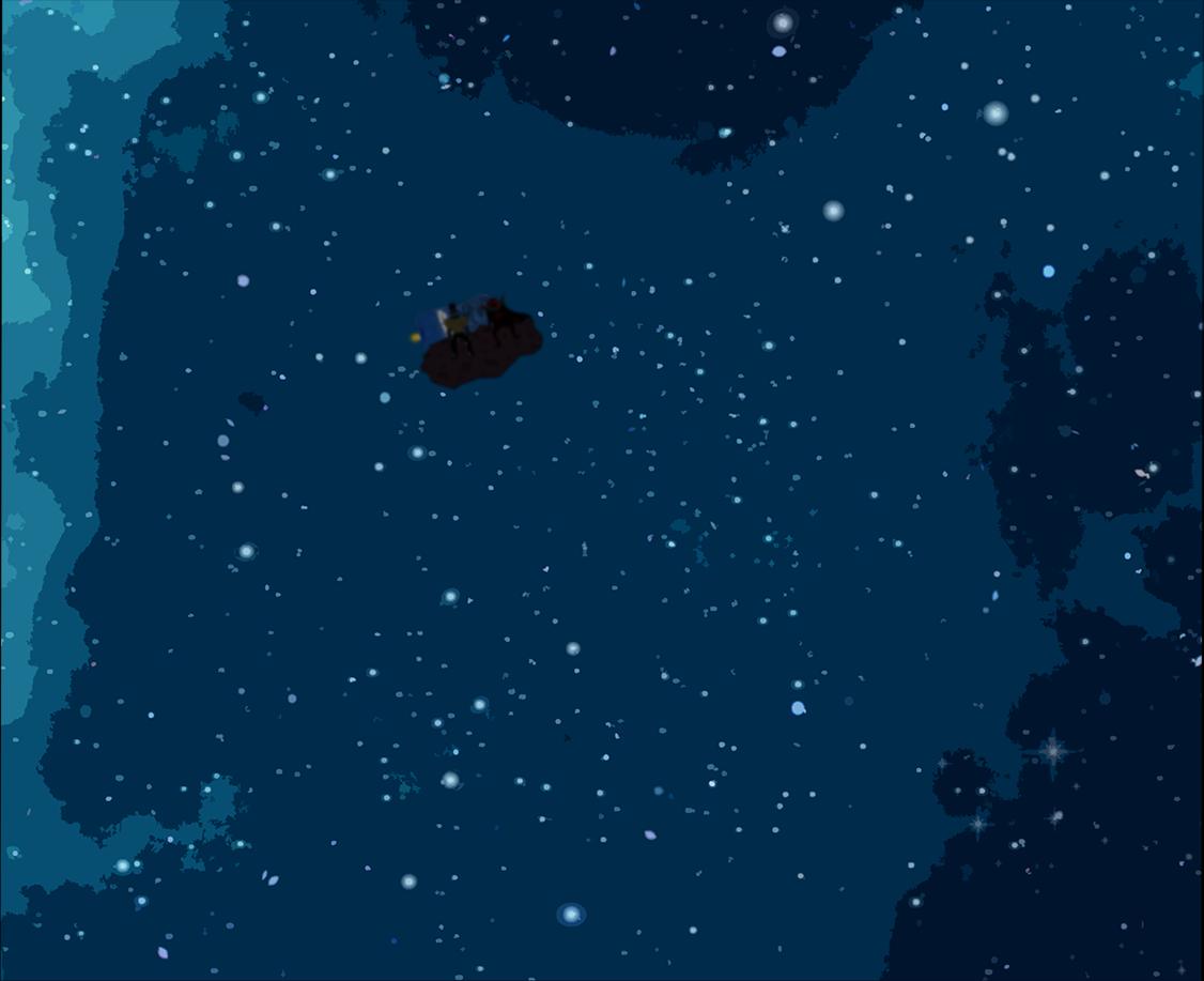 Viktor ja Manu asteroidilla (jo aika kaukana)